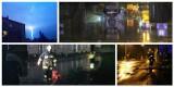 Groźne burze w Wielkopolsce: Ponad 500 interwencji strażaków. Zalany urząd i pożar po uderzeniu pioruna