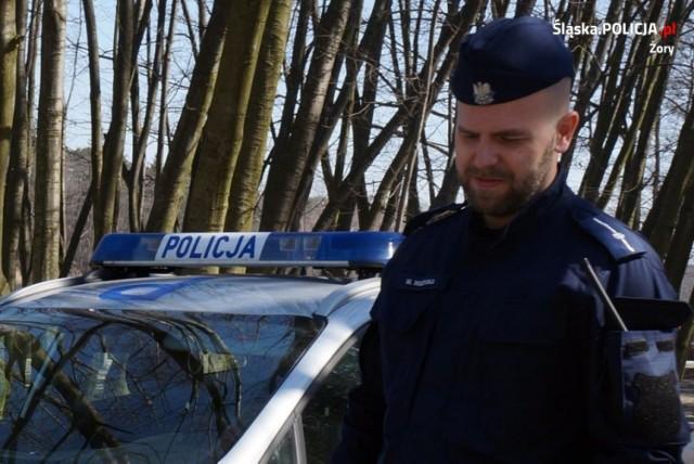 Policjant z Żor pomógł zagubionemu Amerykaninowi