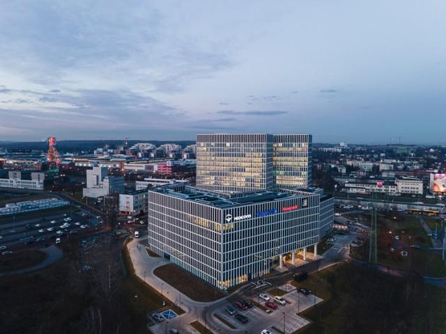 Gotowy kompleks biurowy Face2Face w Katowicach
