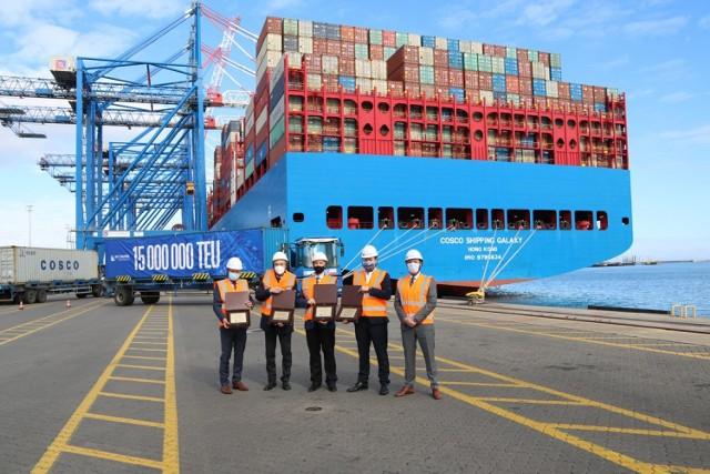 Już 15 mln kontenerów przeszło przez terminal DCT w Porcie Gdańsk!