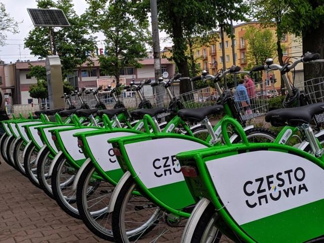 Rowery miejskie w Częstochowie znów działają. Otwarto kolejną stację