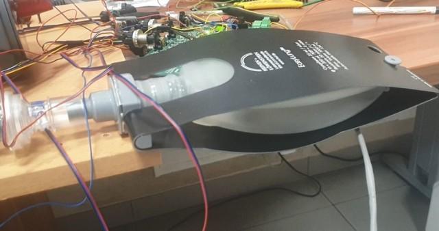 Prototyp respiratora UTP.