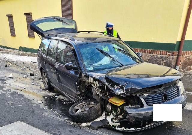 W sobotnie popołudnie w Ostrorogu doszło do groźnie wyglądającego wypadku drogowego
