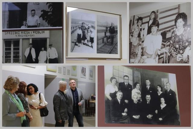 Wystawa archiwalnych fotografii w Zespole Szkół nr 8 na Zawiślu we Włocławku