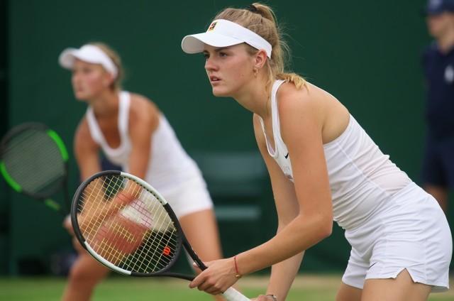 Martyna Kubka, czołowa polska tenisistka.