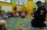 Służby mundurowe z Żor w przedszkolu w Orzeszu [ZDJĘCIA]