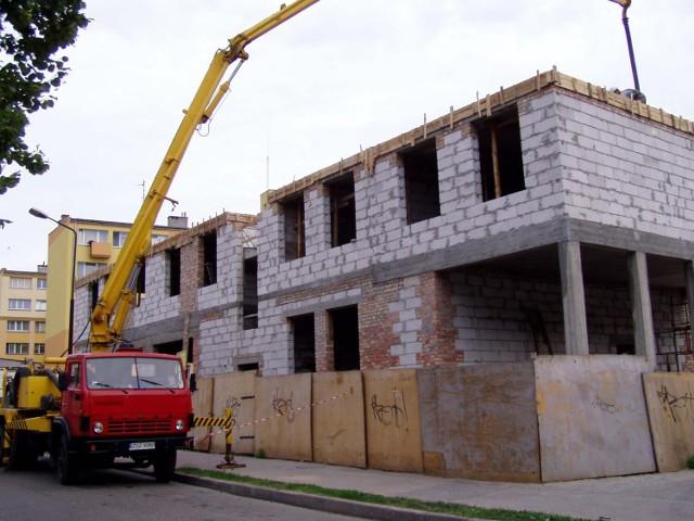 Budowa budynku mieszkalno-usługowego na rogu ulic Rzemieślniczej i Plater w Szczecinku