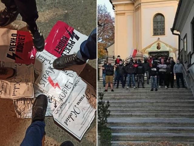 Wpisy i zdjęcia na facebookowej stronie Młodzieży Wszechpolskiej są jednoznaczne w swojej wymowie