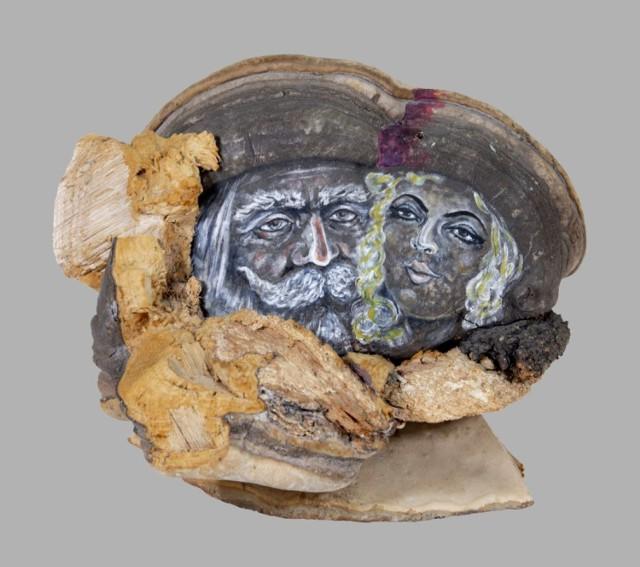 Dzieła sztuki na... hubie drzewnej. Nowe eksponaty w muzeum leśnictwa w Gołuchowie