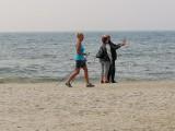 Czyżby koniec lata nad Bałtykiem? W środę po południu byliśmy na kołobrzeskiej plaży