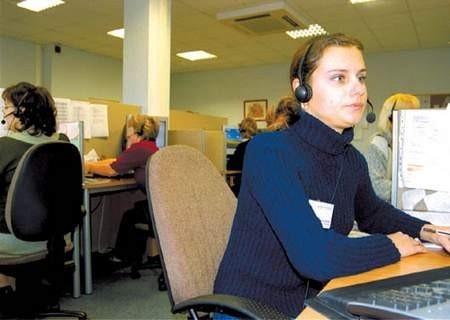 Telefoniczne Centrum Obsługi Klienta swoją siedzibę ma w Rudzie Śl. Chebziu.  Fot: Sylwester Witkowski