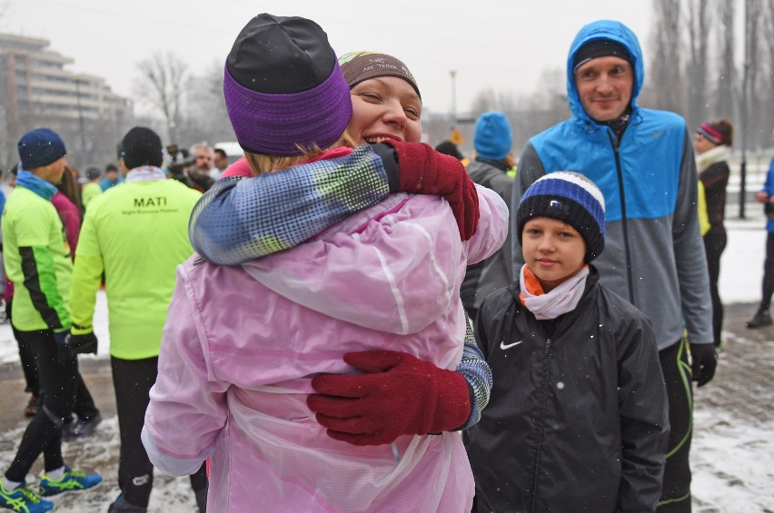Bieg noworoczny w Poznaniu dookoła Cytadeli