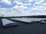 Lokomotywownia w Zbiersku Cukrowni ma nowy dach. ZDJĘCIA