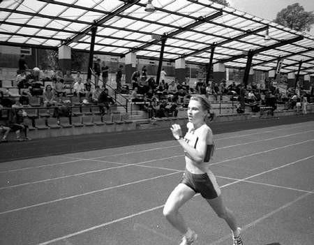 Aleksandra Jawor podczas tego biegu uzyskała minimum na mistrzostwa świata. Foto: KRZYSZTOF SULIGA