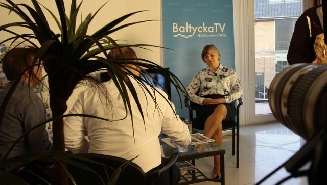 Studio Bałtyckie - wywiady z gośćmi Dziennika Bałtyckiego i Telewizji Bałtyckiej