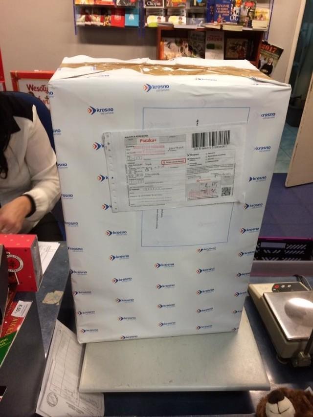 Paczka ważąca 17 kilogramów. A w niej segregatory z dokumentami, dotyczącymi wielkiego projektu modernizacyjnego w Krośnie Odrzańskim. Wszystko trafiło do sądu administracyjnego w Warszawie.