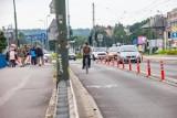 Kraków. Cofną zmiany na moście Grunwaldzkim. Więcej dla kierowców, mniej dla rowerzystów