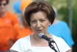 Minister Marlena Maląg w Sulmierzycach. PiS składa kolejne obietnice. Co za tym idzie? [ZDJĘCIA + FILM]