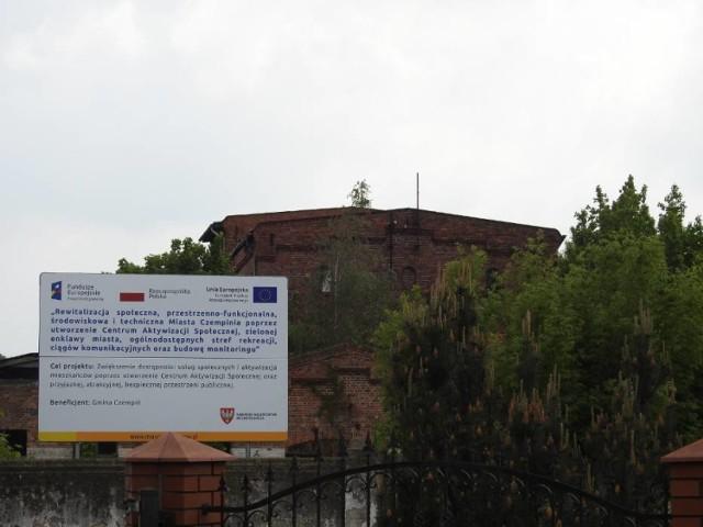 Na zdjęciu rewitalizacja budynku dawnej tlenowni w Czempiniu. Jedna z inwestycji która będzie realizowana także w 2021 roku
