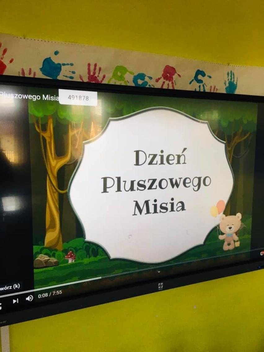 Zbąszyń - Dzień Pluszowego Misia w grupie 5-latków przedszkola w Stefanowie- 25 listopada 2020 [Zdjęcia]