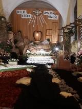 Grób Chrystusa w Sanktuarium Matki Bożej Księżnej Sieradzkiej (ZDJĘCIA)