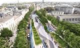 Kraków. Miasto planuje zielony plac na Grzegórzkach, jest jednak problem z parkingami [WIZUALIZACJE]
