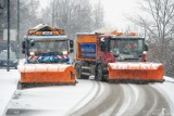 Zimowe działania służb oczyszczania. Na warszawskie ulice wyjechały pierwsze pługi i posypywarki