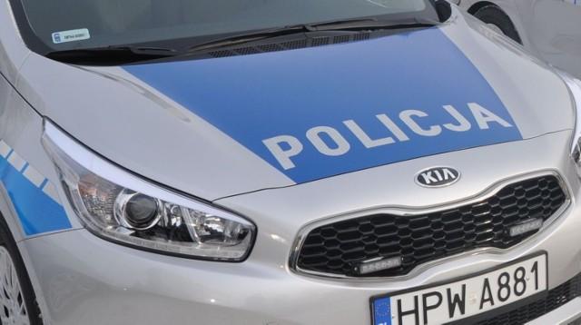 Policja zatrzymała kierowcę mazdy