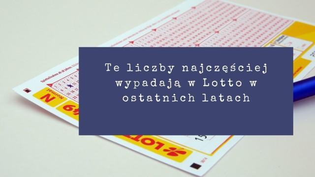 Lotto to najpopularniejsza gra losowa w Polsce. Losowania Lotto i Lotto Plus odbywają się we wtorki, czwartki i soboty o godz. 21:50.   Teoretycznie wszystkie liczby mają równe szanse, ale w praktyce niektóre pojawiają się częściej niż inne. Sprawdziliśmy, które liczby padały najczęściej w ostatniej dekadzie w grze Lotto.   Zobaczcie szczegóły w dalszej części galerii >>>
