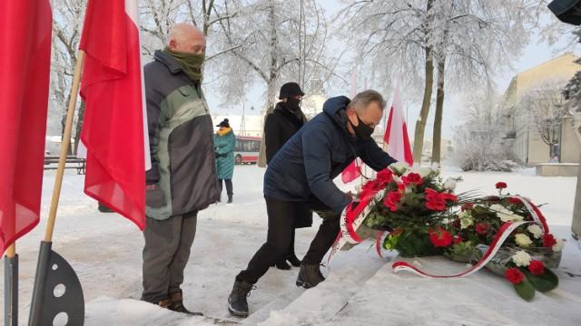 76. rocznica wyzwolenia Piotrkowa spod okupacji niemieckiej, 18 stycznia 2021