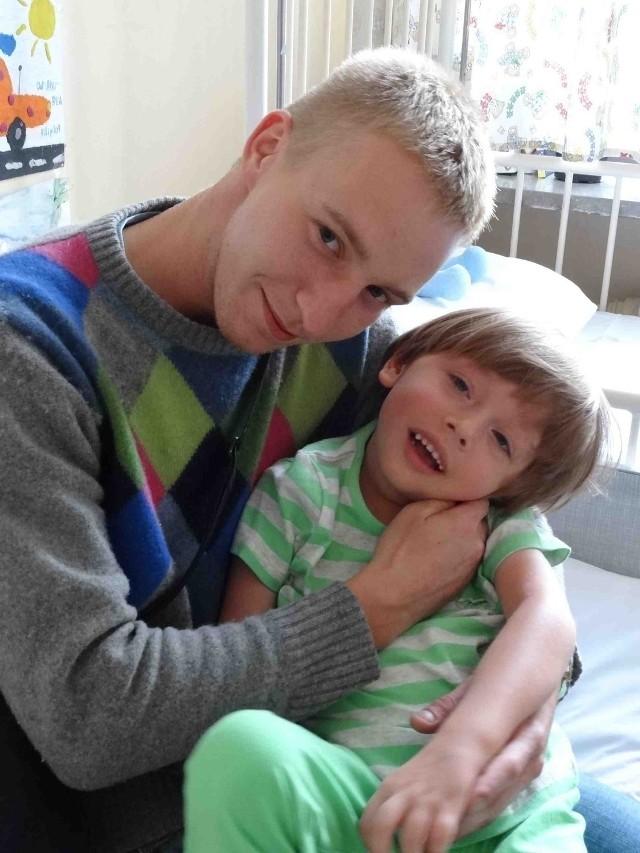 Krzysiek Dylowicz i 5-letni Filip