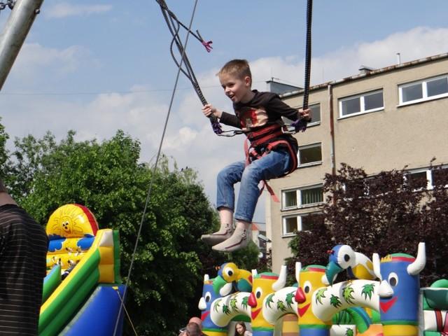 """Dni Rodziny Radomsko 2015: Festyn rodzinny """"Jestem bezpieczny"""" w ZSG 4"""