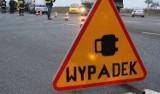 Wypadek pod Wrocławiem. Jedna osoba ranna, trzy auta rozbite