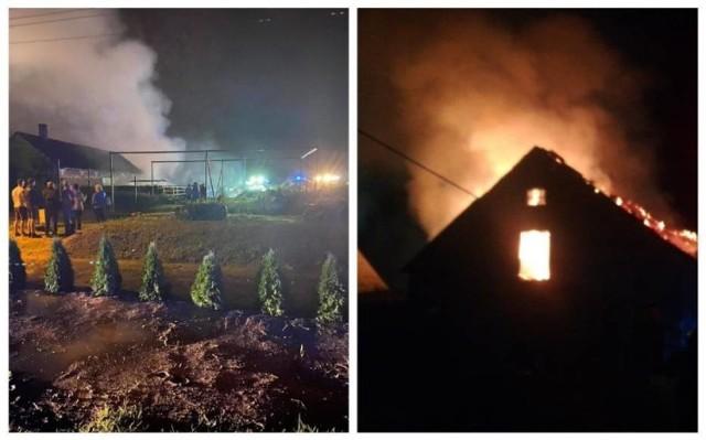 W wyniku pożaru zniszczeniu uległo ponad 60 proc. budynku.
