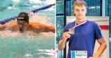 Bartosz Loter (Unia Oświęcim). Małymi krokami stara się realizować sportowe marzenia. Zdobył dwa srebrna w MP 16-latków w pływaniu. ZDJĘCIA