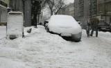 Łódź tonie w śniegu. Jeszcze będzie padać, ale zaczyna się odwilż [ZDJĘCIA]