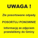 """W gminie Połczyn-Zdrój niesegregujący dostaną """"żółte kartki"""" [zdjęcia]"""