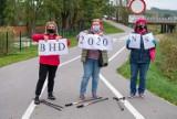 Zamiast Marszu Różowej Wstążki spacer po ścieżce rowerowej