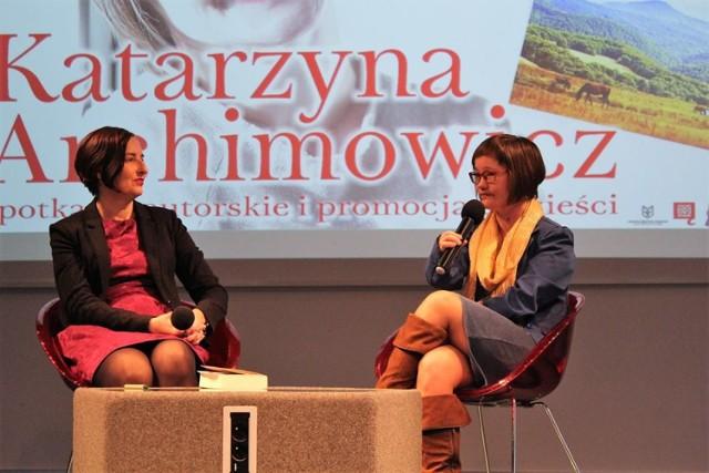 Chełm. Pisarka Katarzyna Archimowicz w ChBP