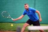 Marcin Piegdoń wygrał Mistrzostwa Jasła w tenisie ziemnym [ZDJĘCIA]