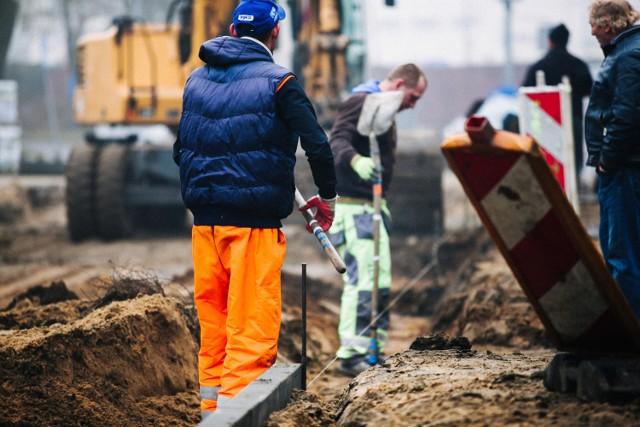 23.11.2016 bydgoszcz miasto remonty drogi ulica saperow prace fot. filip kowalkowski/polska press