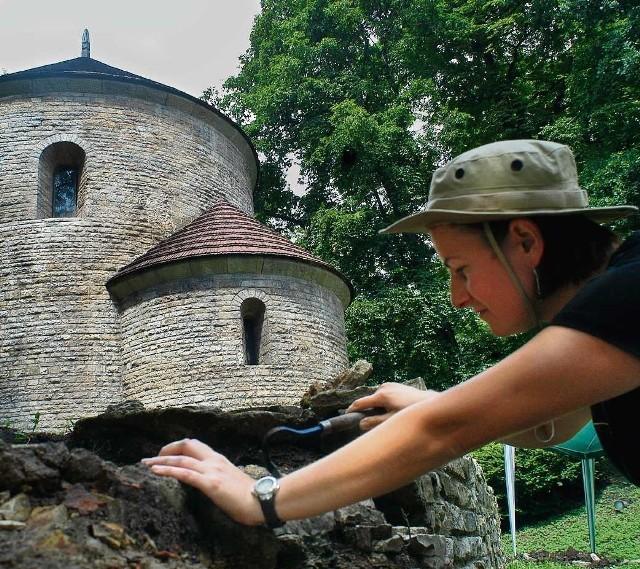 Rewitalizacja Wzgórza Zamkowego została poprzedzona badaniami archeologicznymi