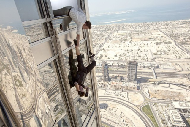 """Kadr z """"Mission: Impossible. Ghost protocol"""""""
