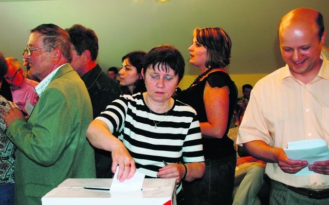 Maria Kołodziejczyk, mieszkanka Małastowa, podobnie jak inni  również wzięła udział w głosowaniu