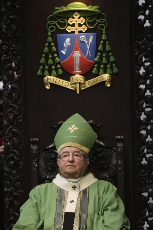 Abp Sławoj Leszek Głódź odprawi w czwartek mszę w Archikatedrze Oliwskiej