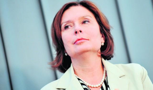 Małgorzata Kidawa-Błońska, wiceprzewodnicząca klubu parlamentarnego Platformy