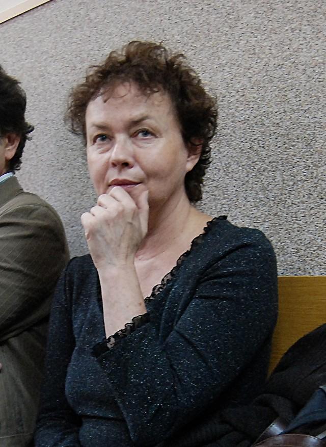 Joanna Szczepkowska poparła aktorów z Arlekina.