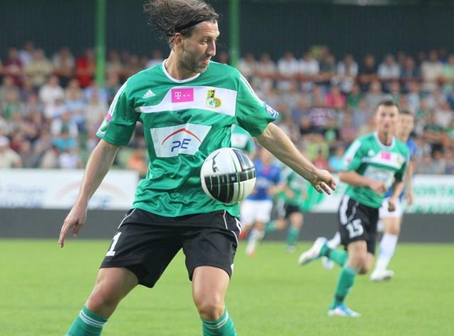 Kamil Kosowski rozegrał cały mecz, ale bramki nie strzelił