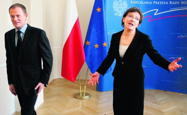 Ewa Kopacz może liczyć na silne poparcie premiera