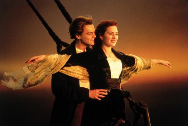 "Kadr z filmu ""Titanic"""